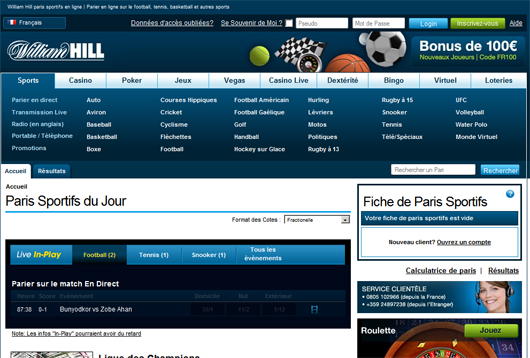 William Hill.fr